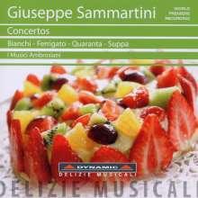 Giuseppe Sammartini (1695-1750): Concertos, CD