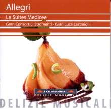 Lorenzo Allegri (1567-1648): Les Suites Medicee Nr.1-8, CD