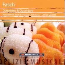 Johann Friedrich Fasch (1688-1758): Ouvertüre G-Dur, CD