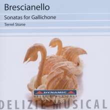 Giuseppe Antonio Brescianello (1690-1758): Sonaten für Gallichone Nr.1-9, CD