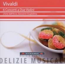 Antonio Vivaldi (1678-1741): Konzerte für 2 Violinen RV 506,509,513,514,, CD