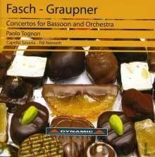 Christoph Graupner (1683-1760): Fagottkonzerte in G & c, CD