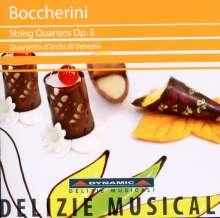 Luigi Boccherini (1743-1805): Streichquartette op.8 Nr.1-6, CD