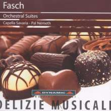 Johann Friedrich Fasch (1688-1758): Ouvertüren (Suiten) D-Dur,F-Dur,a-moll, CD