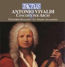 Antonio Vivaldi (1678-1741): Concerti für Streicher RV 124,154,302,367,522,578, CD