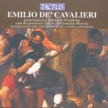 Emilio de' Cavalieri (1550-1602): Lamentationes Hieremiae Prophetae, CD