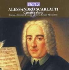Alessandro Scarlatti (1660-1725): 3 Kantaten, CD