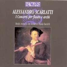 Alessandro Scarlatti (1660-1725): 9 Flötenkonzerte, CD