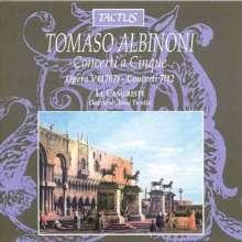 Tomaso Albinoni (1671-1751): Concerti op.5 Nr.7-12, CD