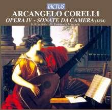 Arcangelo Corelli (1653-1713): Triosonaten op.4 Nr.1-12, CD