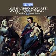 Alessandro Scarlatti (1660-1725): Concerti Sacri Vol.2, CD
