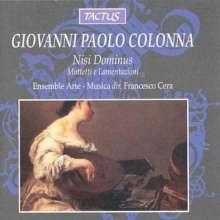 Giovanni Paolo Colonna (1637-1695): Motetten, CD