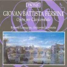 Giovan Battista Ferrini (1601-1674): 23 Cembalowerke, CD