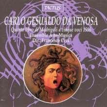 Carlo Gesualdo von Venosa (1566-1613): Madrigali a cinque voci Libro IV, CD