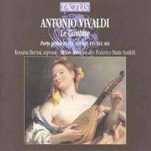 Antonio Vivaldi (1678-1741): Kantaten RV 651,652,654,661,664,668, CD
