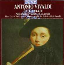 Antonio Vivaldi (1678-1741): Kantaten RV 655,657-660,669, CD
