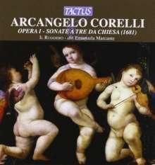 Arcangelo Corelli (1653-1713): Triosonaten op.1 Nr.1-12, CD