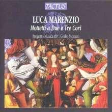 Luca Marenzio (1553-1599): Motetti a due e tre Cori, CD