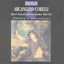 Arcangelo Corelli (1653-1713): Sonaten für Blockflöte & Bc op.5 Nr.4,7-12, CD