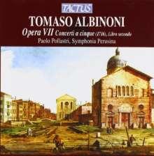 Tomaso Albinoni (1671-1751): Concerti op.7 Nr.7-12, CD