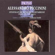 Alessandro Piccinini (1566-1639): Lautenwerke, CD