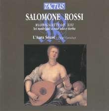 Salomone Rossi (1570-1630): Madrigaletti op.13, CD