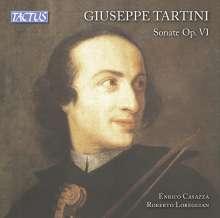 Giuseppe Tartini (1692-1770): Sonaten f.Violine & Bc op.6 Nr.1-6, CD