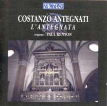 Costanzo Antegnati (1549-1624): Intavolatura de Ricercari d'Organo op.16, CD