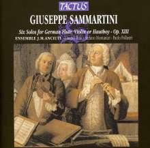 Giuseppe Sammartini (1695-1750): Sonaten für Flöte & Bc op.13 Nr.1 & 6, CD