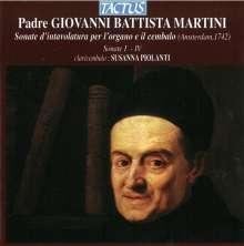 Giovanni Battista Martini (1706-1784): Cembalosonaten Nr.1-4, CD