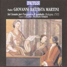 Giovanni Battista Martini (1706-1784): Orgelsonaten Nr.2,4,6, CD