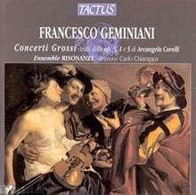 Francesco Geminiani (1687-1762): Concerti grossi op.3 Nr.1,3,4,9,10, CD