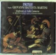 Giovanni Battista Martini (1706-1784): 10 Sinfonie a 4 da Camera, CD
