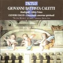 Giovanni Battista Caletti (1577-1642): Madrigali (Libro 1), CD