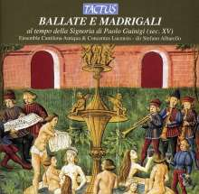 Madrigale & Ballate des 15.Jahrhunderts, CD