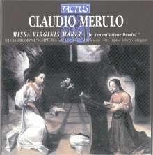 Claudio Merulo (1533-1604): Missa Virginis Mariae, CD