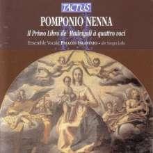 Pomponio Nenna (1550-1618): Madrigale zu 4 Stimmen (Heft 1), CD