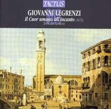 Giovanni Legrenzi (1626-1690): Il Cuor umano all'incanto (Oratorium für 4 Stimmen & Bc), CD
