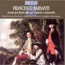Francesco Barsanti (1690-1772): Sonaten f.Blockflöte & Bc op.1 Nr.1-6, CD