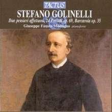 Stefano Golinelli (1818-1891): 24 Präludien op.69, CD