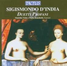 "Sigismondo d'India (1582-1629): Duetti Profani aus ""Le Musiche"" Heft 1, CD"