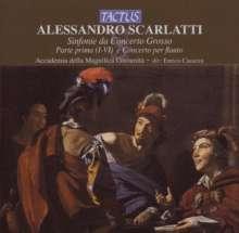 Alessandro Scarlatti (1660-1725): Sinfonie di concerto grosso Nr.1-6, CD