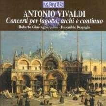 Antonio Vivaldi (1678-1741): Fagottkonzerte Vol.1, CD