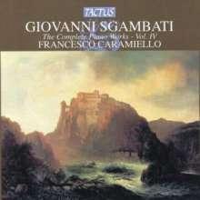 Giovanni Sgambati (1841-1914): Saämtliche Klavierwerke Vol.4, CD