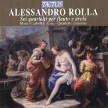 Alessandro Rolla (1757-1841): Flötenquartette Nr.1-6, CD