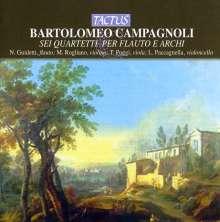 Bartolomeo Campagnoli (1751-1827): Flötenquartette Nr.1-6, CD