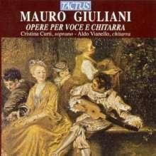 Mauro Giuliani (1781-1829): Lieder für Sopran & Gitarre, CD