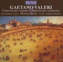Gaetano Valeri (1760-1822): Sinfonien & Concerti, CD