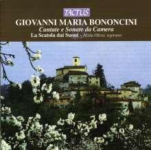 Giovanni Maria Bononcini (1642-1678): Cantate e Sonate da Camera, CD