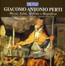 Giacomo Antonio Perti (1661-1756): Messa a cinque, CD